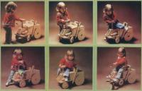 Ребенок осваивает трактор