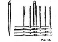 Рис. 12. Деревянные клинья