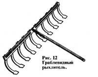 Рис. 12. Граблевидный рыхлитель