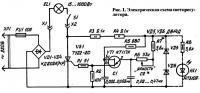 Рис. 1. Электрическая схема светорегулятора