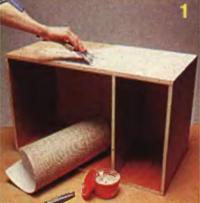 Рис. 1. Корпус обоих шкафов собирают по одинаковой схеме