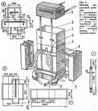 Рис. 1. Мягкий модульный рюкзак