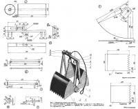 Рис. 1. Общий вид ковша и его детали