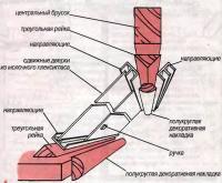 Рис. 1. Сборка светильника-антресоли