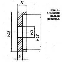 Рис. 1. Съемник пальца рессоры
