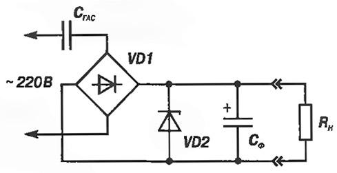 Рис. 1. Упрощенная схема БПТП