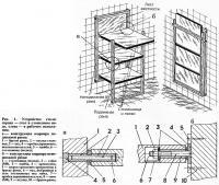Рис. 1. Устройство стола