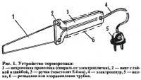 Рис. 1. Устройство терморезака