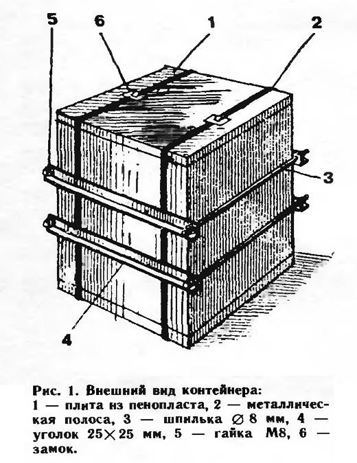 Рис. 1. Внешний внд контейнера