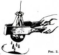 Рис. 2. Деревянные щипцы для отжима сока