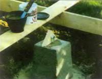 Рис. 2. Деревянные треугольники