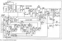 Рис. 2. Электрическая схема блока охраны