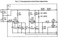 Рис. 2. Электрическая схема блока управления