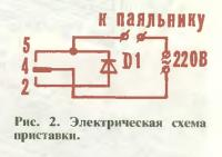 Рис. 2. Электрическая схема приставки