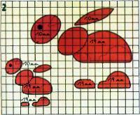 Рис. 2. Контуры элементов