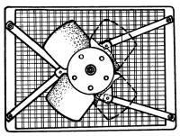 Рис. 2. Крепление вентилятора