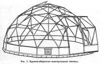 Рис. 2. Крупногабаритная многоугольная теплица