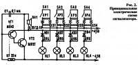 Рис. 2. Принципиальная электрическая схема сигнализатора