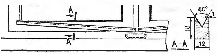 Рис. 2. Простейший водосток