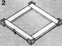 Рис. 2. Стягивание рамы через углы