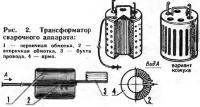 Рис. 2. Трансформатор сварочного аппарата