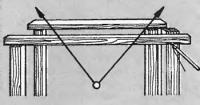 Рис. 2. Визирная рейка