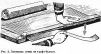 Рис. 2. Заготовка ленты из крафт-бумаги