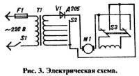 Рис. 3. Электрическая схема