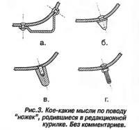 Рис. 3. Кое-какие мысли по поводу ножек