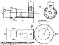 Рис. 3. Приспособление для измерения тепловых зазоров в газораспределительном механизме