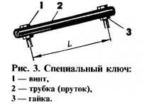Рис. 3. Специальный ключ