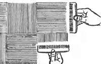 Рис. 3. Тот же прием для образования шахматного рисунка