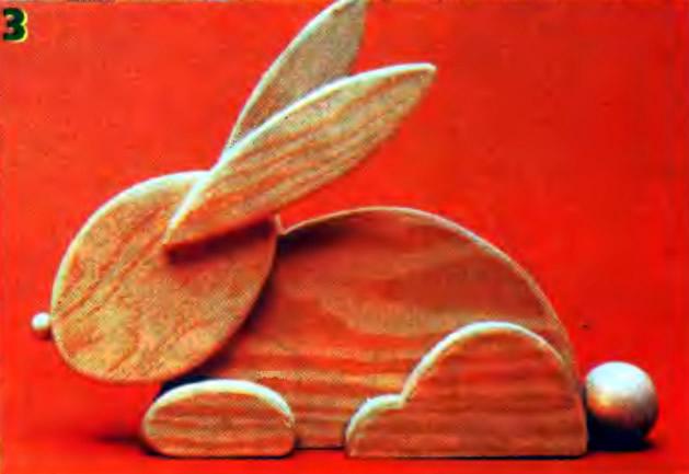 Рис. 3. Зайчик «без отделки»