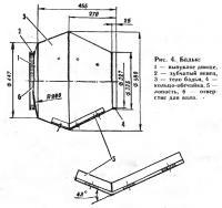 Рис. 4. Бадья бетономешалки