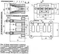 Рис. 4. Блок лепестковых клапанов