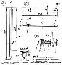 Рис. 4. Детали жерлицы В. Быкова