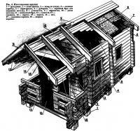 Рис. 4. Изготовление крыши
