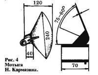Рис. 4. Мотыга Н. Кармазина