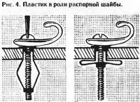 Рис. 4. Пластик в роли распорной шайбы