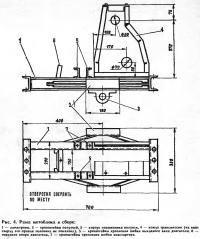 Рис. 4. Рама мотоблока в сборе