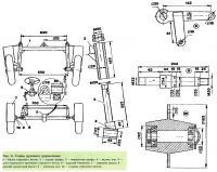 Рис. 4. Схема рулевого управления
