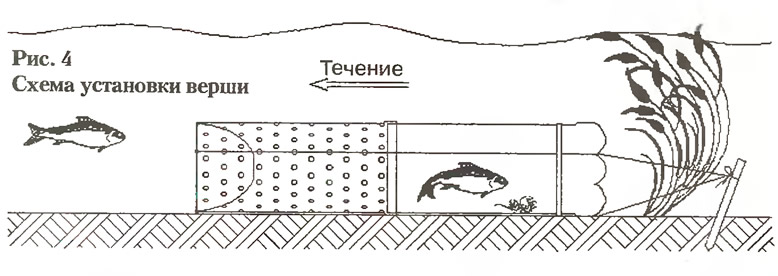 Как сделать морду для ловли рыбы своими руками схема 23