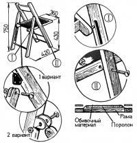 Рис. 4. Технология сборки складного стула