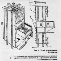 Рис. 4 Улей конструкции Г. Яковлева