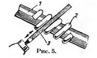 Рис. 5. Изготовление червяка