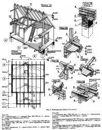 Рис. 5. Конструкция дома (окончание)