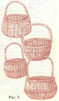 Рис. 5. Круглые базарные корзины