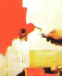 Рис. 6. Наносим промежуточный слой эмали