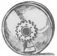 Рис. 6. Обод колеса