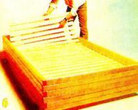 Рис. 6. Решетка из реек